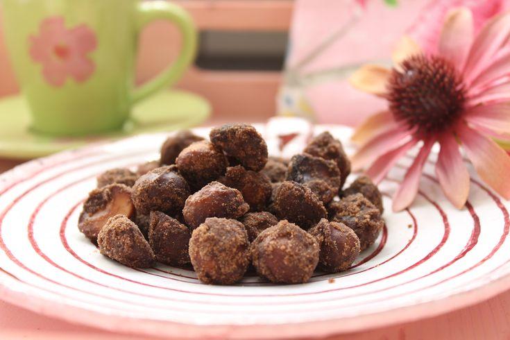 Low Carb Rezepte von Happy Carb: Gebrannte Macadamias - Bei mir wären es fast verbrannte Macadamias geworden.