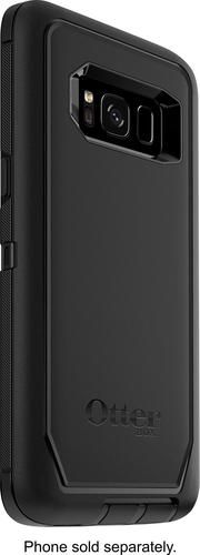 OtterBox - Defender Series Case for Samsung Galaxy S8 - Black - Angle