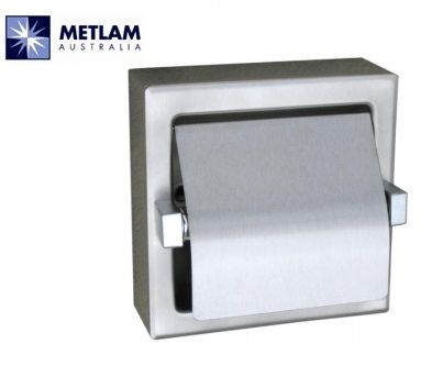 ML261-SM Single Toilet Roll Holder Surface Mount Bright Finish