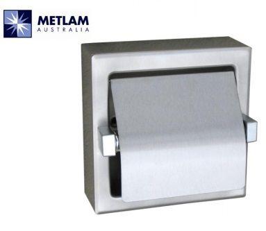 ML261-SM Single Toilet Roll Holder Surface Mount Bright Finish