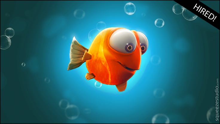 Character Licensing - Squeeze Studio Animation - Fish | More unique characters at: http://www.squeezestudio.com/character-licensing.html