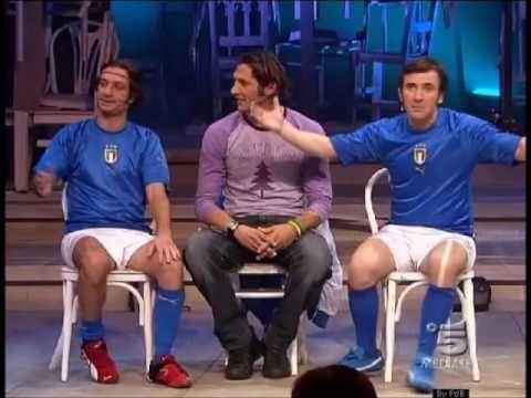 Ficarra & Picone con Marco Materazzi e Gennaro Ivan Gattuso