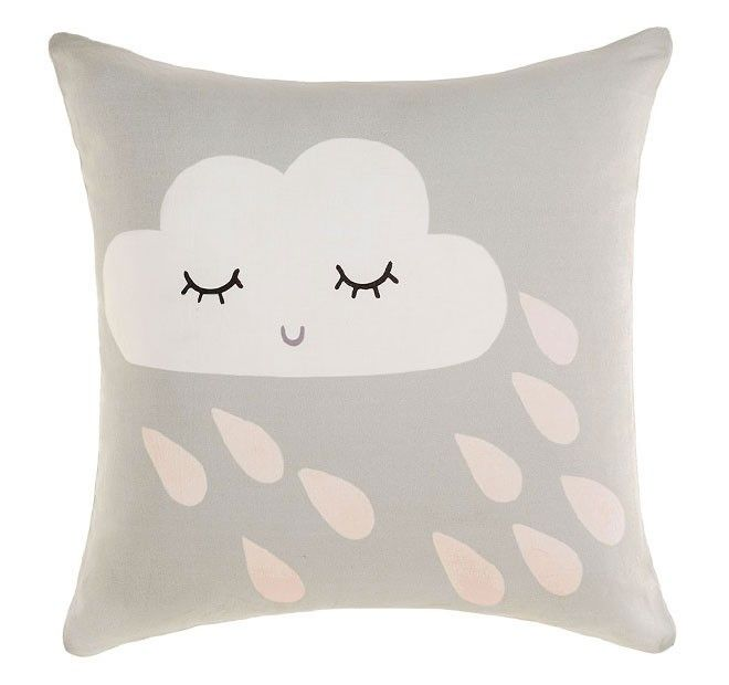 Lilou 45x45cm Filled Cushion Apricot - Kids | Manchester Warehouse