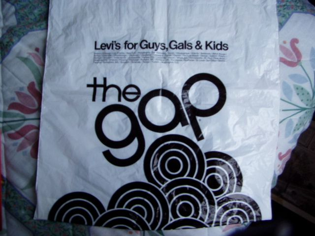 Gap in the 1980s. Remember the commercials? Fall into the gap.
