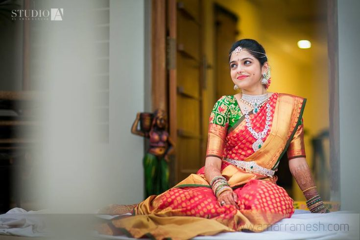 Beautiful South Indian Bridal Makeup #Bridalmakeup #SouthIndian