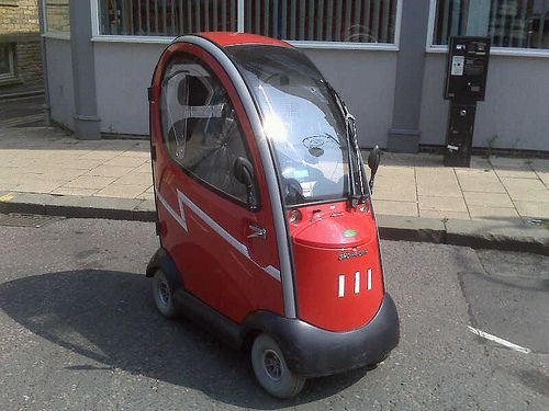 microcar city car small cars funny cars car stuff classic cars mobility scooters little red awesome things