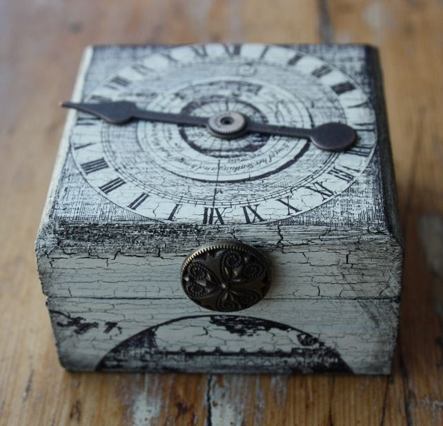 steampunk diy crafts | Steampunk Trinket Box or Cufflink Box - Folksy | Craft Juice