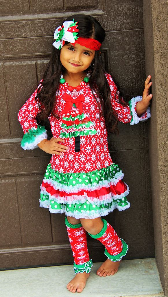25 best Christmas Girls Outfits images on Pinterest | Christmas ...