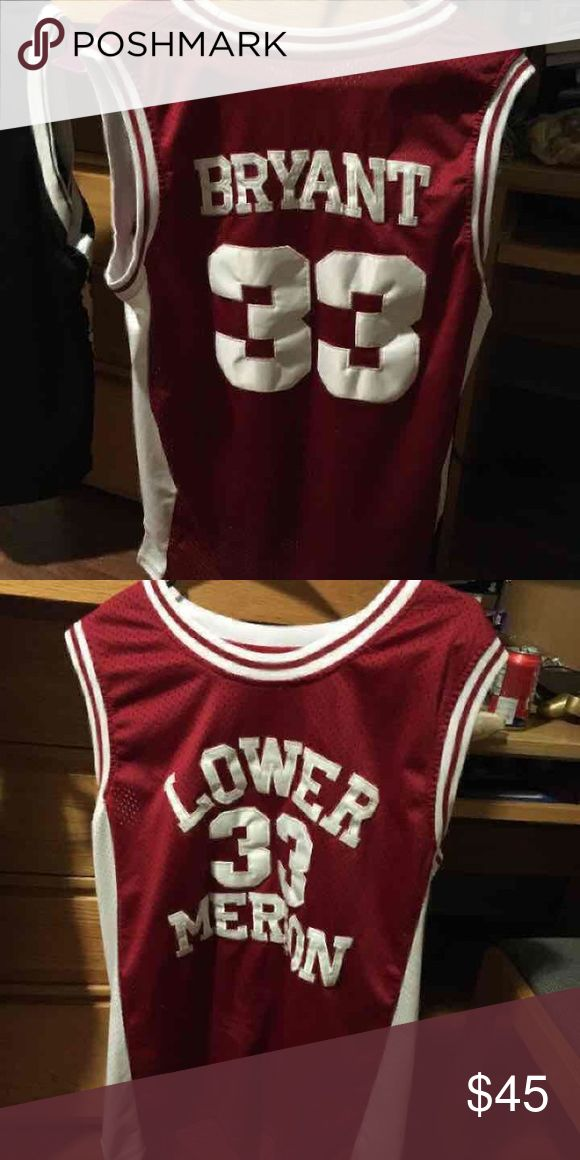 Kobe Bryant High School Jersey Size Medium I had this for a couple years. Just want to get rid of it. Thanks Shirts Tank Tops