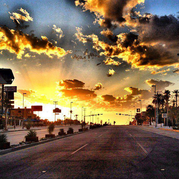 Una de las avenidad importantes de la ciudad de Hermosillo, Sonora