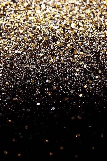 christmas new year gold silver glitter background holiday abstract