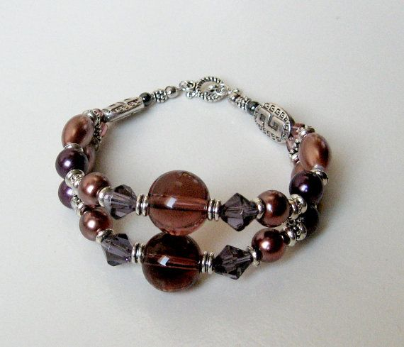 Hollywood Glamour Style Bracelet with a Touch of Vintage