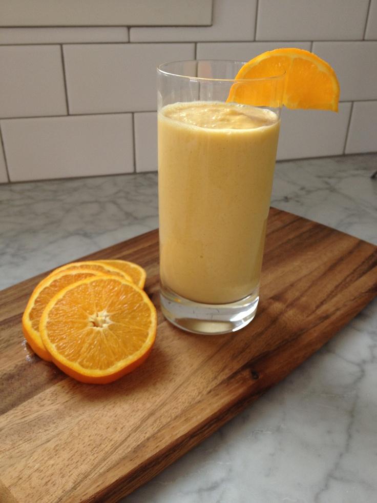 Mango Orange Tahini Smoothie ~ Blend the following ...
