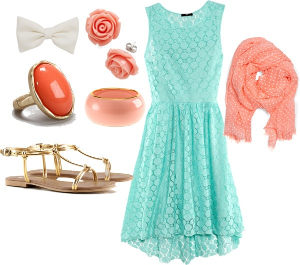 """summer dress:)"" by boycrazy74 on Polyvore: Cute Outfits, Summer Outfits"