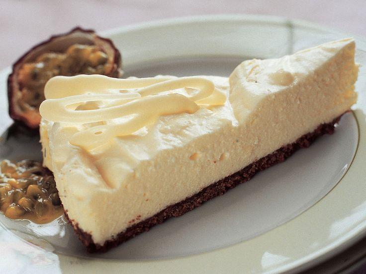 Valkosuklaa-juustokakku - Reseptit