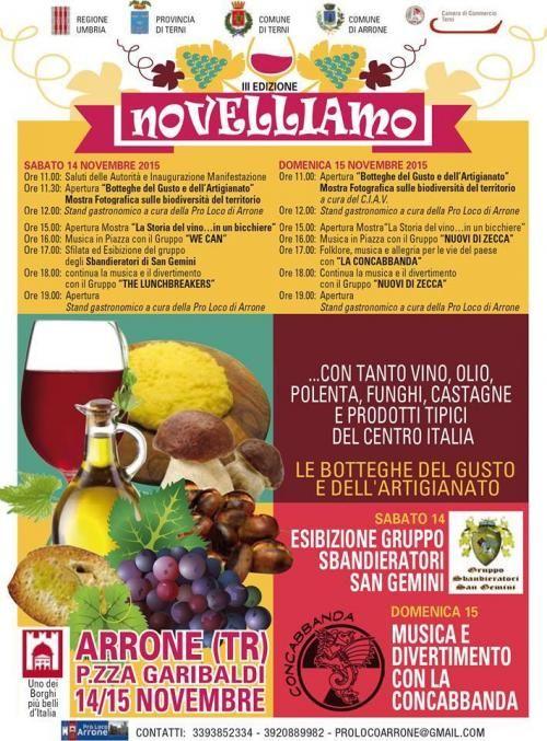 Novelliamo 2015 ad Arrone - Valnerina