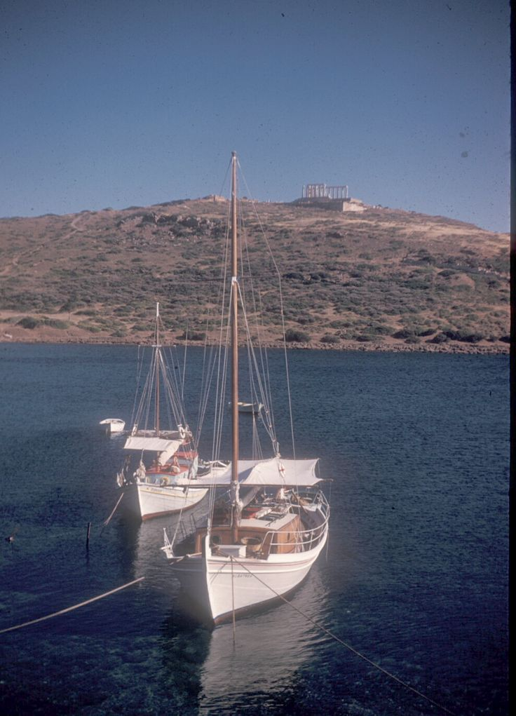 1961 ~ The Temple of Poseidon at Cape Sounion