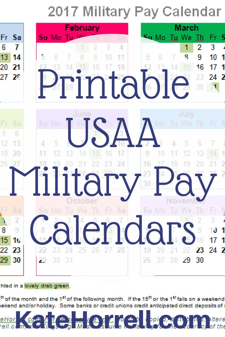 Usaa pay dates