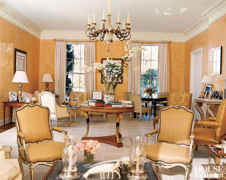 Bunny Williams ~ Airy Living Room Of A Palm Beach, Florida, Home Has Several Part 31