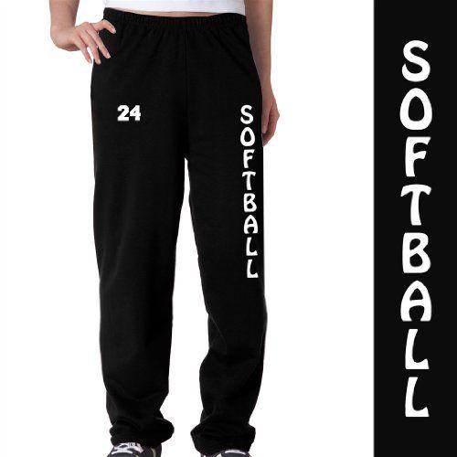 Softball Fleece Sweatpants Adult Medium on Black ChalkTalkSPORTS,http://www.amazon.com/dp/B00BNJ7XJI/ref=cm_sw_r_pi_dp_jBfusb0T0PV46Y4B