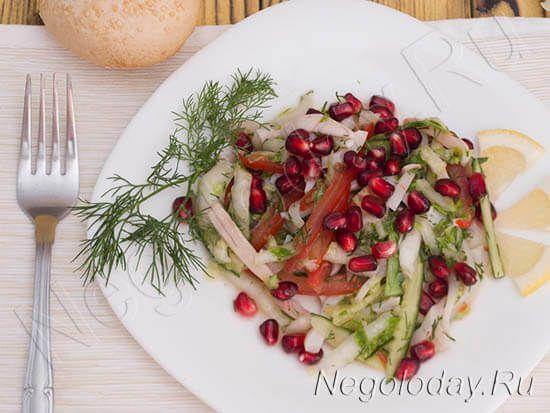 Низкокалорийный салат с кальмарами – порадует вкусом и наполнит бодростью