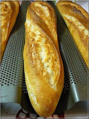 Limara péksége: Egyszerű bagett