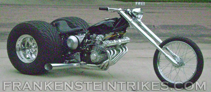 Custom Trikes | Frankenstein Trike Conversion Kit Custom Honda CBX photo