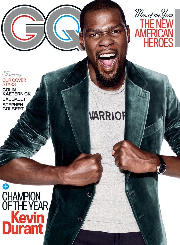 #Kevindurant for #gq magazine - Men of the Year December 2017