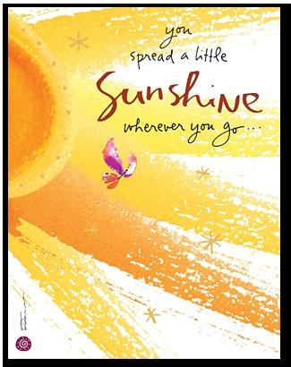 You spread a little sunshine wherever you go! | Summer ...