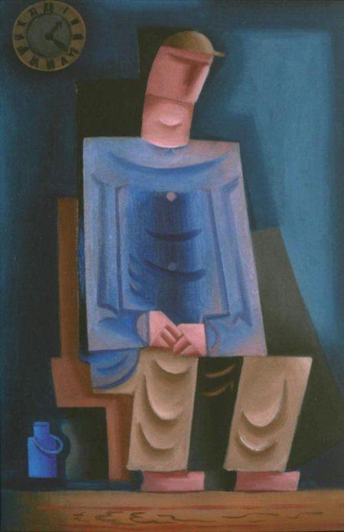 Josef Čapek: Sedící muž
