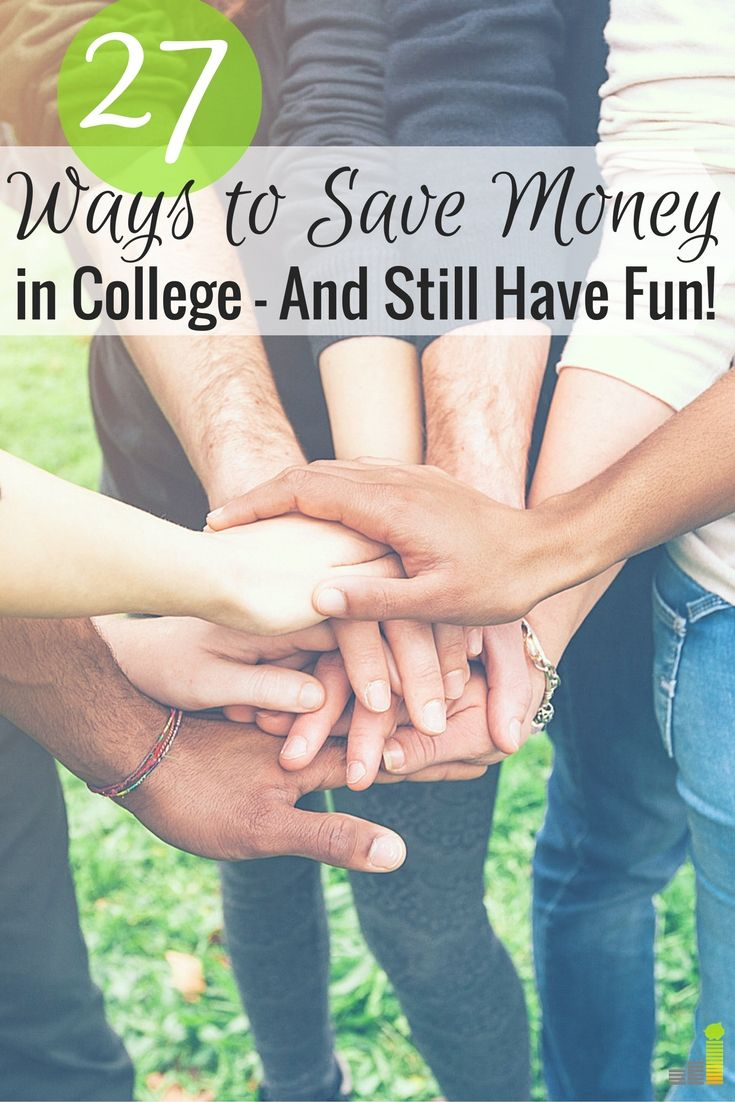 Want to save money in college, but think it's impossible? Here are 27 ways to save money in college and still have a great time.