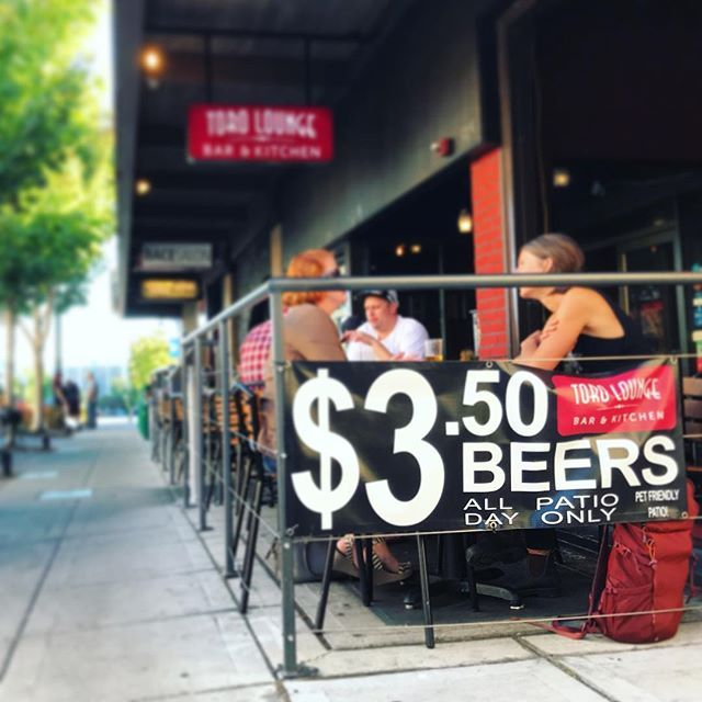 Its National Drink Beer Day And Our Patio Is Still Open With 3 50 Beers All Day Long Torolounge Downtownbr National Drink Beer Day Beer Day Drinking Beer
