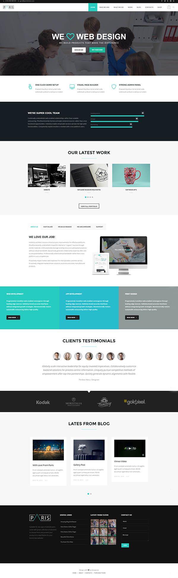 Paris-WordPress-Theme-Screen-Short