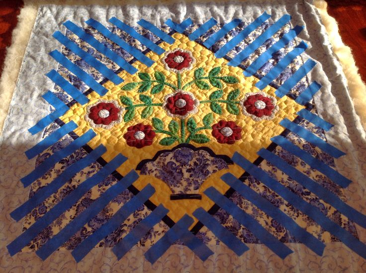 Painters tape is one of my favorite quilt marking tools when hand quilting straight lines.  I am sure many of you use this technique, but th...