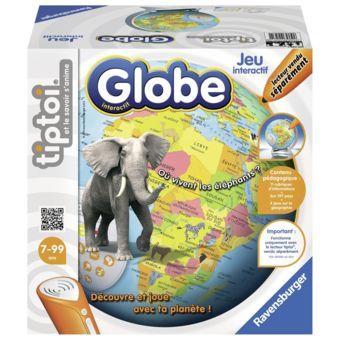 RAVENSBURGER - Tiptoi Globe interactif - 00561