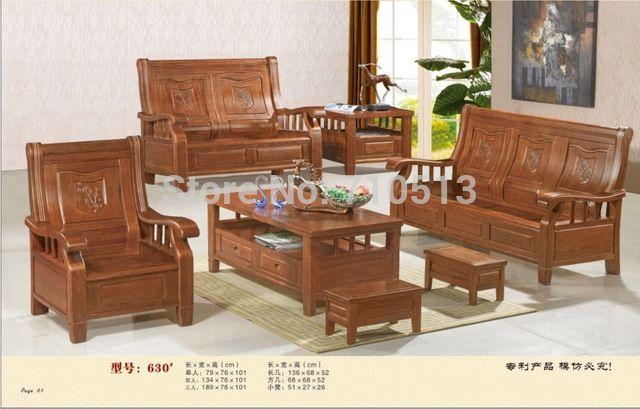Holz Sofa Sets Für Wohnzimmer Sofa Pinterest