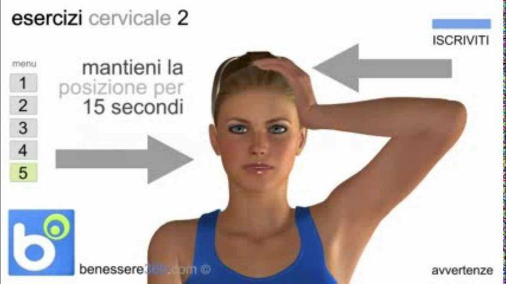 Ginnastica per la cervicale: esercizi e rimedi per il torcicollo ed il dolore.
