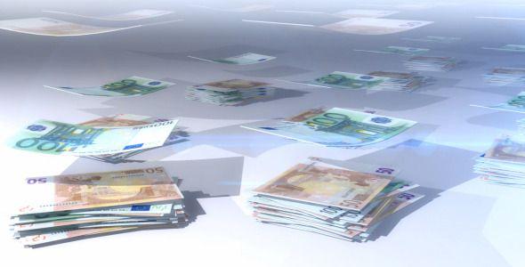 Money Euro Falling