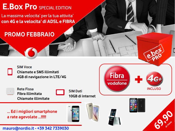 Fantastica PROMO di febbraio! #offertevodafone #vodafonebusiness #vodafone #4g
