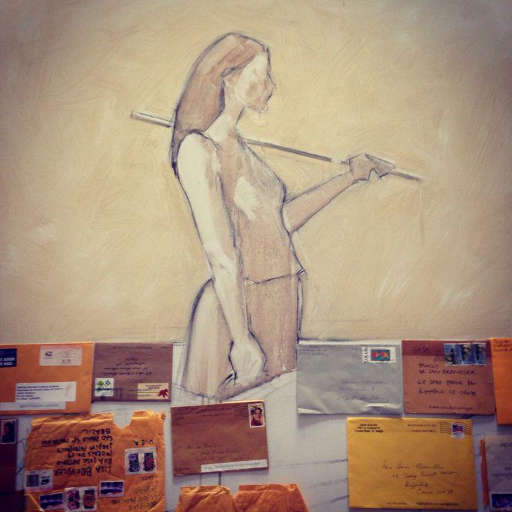 Pintura nova, dia 1 / new painting, day 1