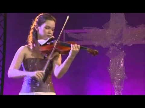Violinist Hilary Hahn - Paganini - Caprice  Solo  For Violin No  24   Op 1  From Verbier Festival, 2007. Switzerland