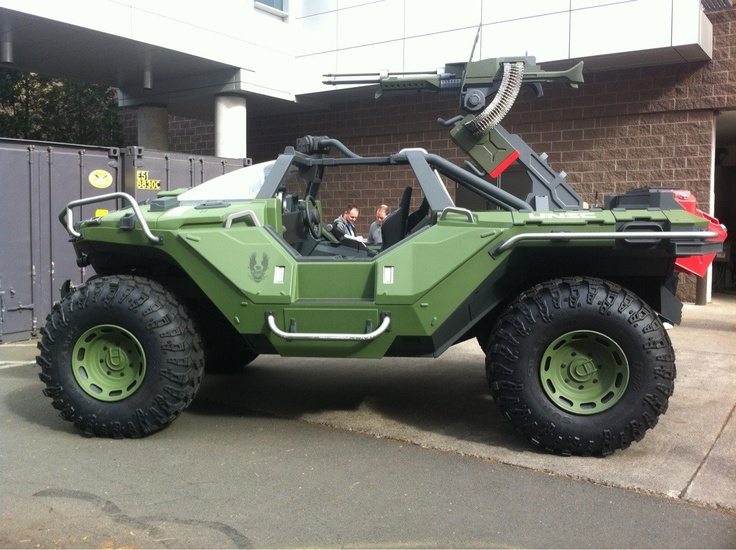 Real Life Halo Vehicles: Warthog...been A Long Time Since I Played Halo Lol
