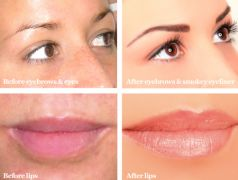 €99 instead of €200 for Upper Eyeliner OR Eyebrows OR €150 instead of €300 for 3D Lips Permanent Makeup!!