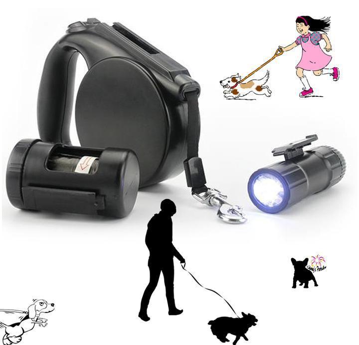 Colliers Et Headphones Enrouleur Laisse Lampe TorcheLaisses À Avec D2WHIE9