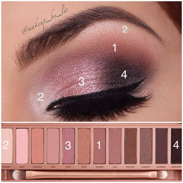 Full eye shadow pallets offer multiple eye looks and years of use. Beautiful brow with the perfect naked eye. Don't forget to highlight and blend!