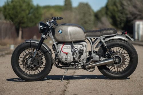 BMW R100 Brat Style CRD#54 by Cafe Racer Dreams #motorcycles #bratstyle #motos | caferacerpasion.com