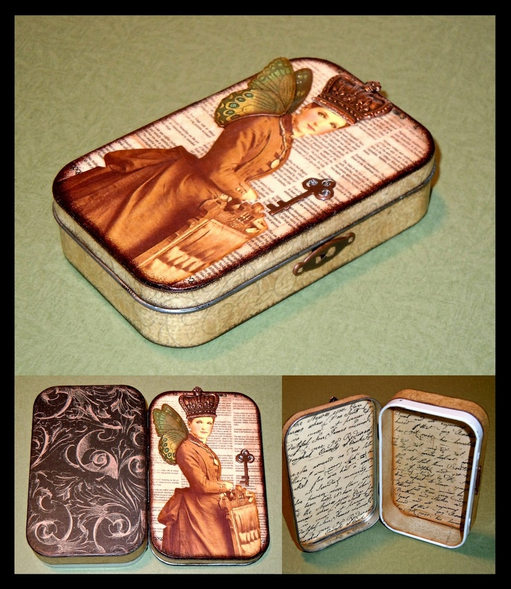 It's All About Me  Mine: More Mint Tin creations.