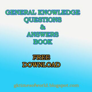 WORLD GK TIMES: General Knowledge Questions and Answer 29-08-2014
