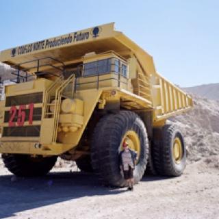 Chuquiquimata copper mine Chile