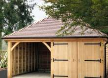 Open Timber Garages | Wooden Car Ports | Workshop & Logstore - Ascot Timber Buildings Limited